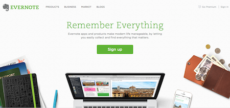 Evernote Organise Your Business Online